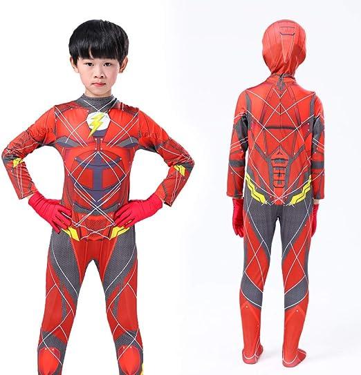 POIUYT Niños Flash Ropa Flaca Película Anime Boy Juego De rol De ...