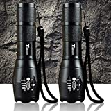 Best Led Flashlights - Timlon? 2 Pack LED Tactical Flashlight Cree XM-L Review