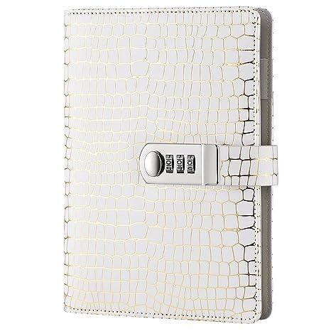 Amazon.com: Arrlsdb - Cuaderno de contraseñas con cerradura ...