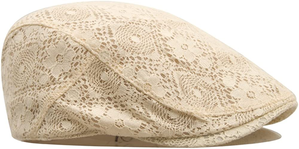 None Fashion Beautiful Elegant Temperament Womens Berets The Cool Air Hollow Pattern