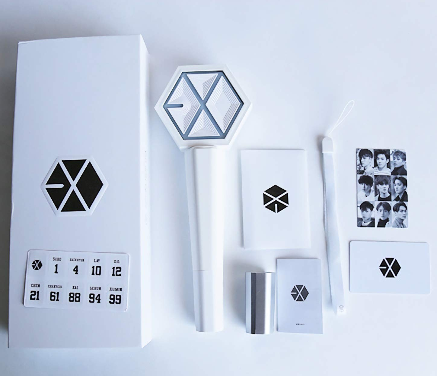BTY Beauty Products EXO Ver 3.0 Light Stick Ventilateurs Support Limité Lampe De Concert Fluorescent Light Stick 199447
