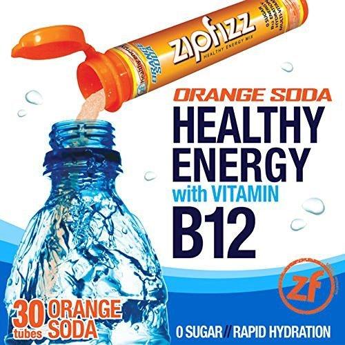 Zipfizz Orange Healthy Energy Drink