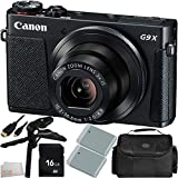 Canon PowerShot G9 X Digital Camera - International Version (No Warranty) + 7PC Accessory Kit