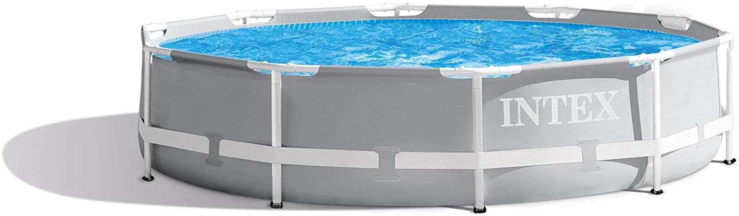 Intex 10 Feet x 30 Inches Prism Frame Above Ground Swimming Pool Amazon's Choice