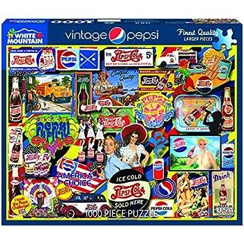 White Mountain Puzzles Vintage Pepsi - 1000 Piece Jigsaw Puzzle