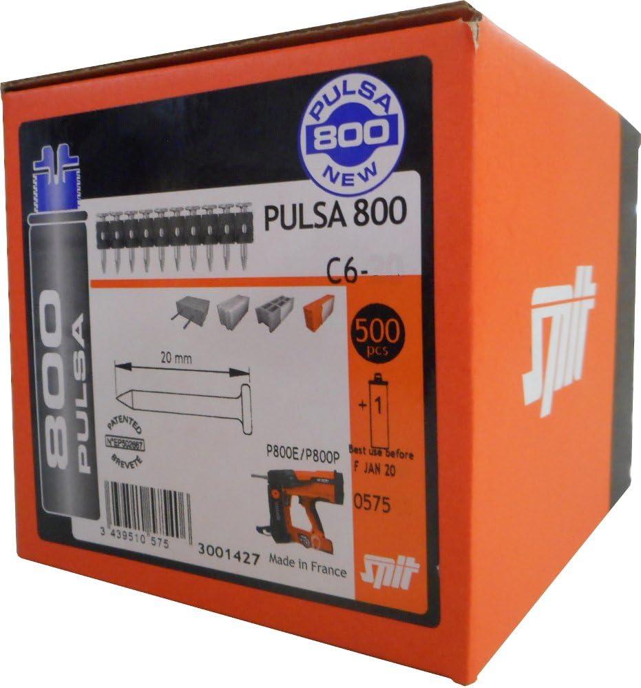 Clavo para hormigon estandar c6-30+gas p800 Spit