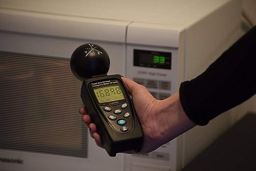 hf-b3g HF/RF de 3 ejes metros analizador detector de Y 50 MHz – 3,5 GHz medición de radiación de teléfonos móviles Smart metros Cell Torres WiFi