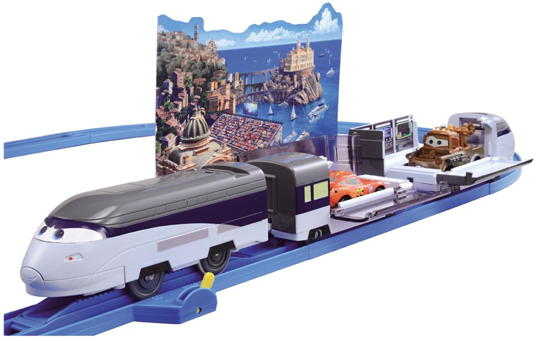 Pla Cars Stevenson Rail Set (japan import)