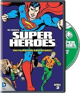 amazon com dc super heroes the filmation adventures various
