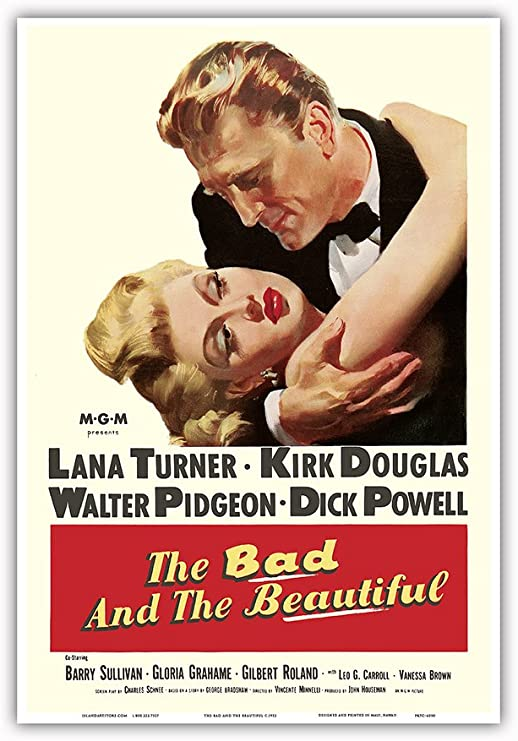Amazon.com: The Bad and The Beautiful - Starring Kirk Douglas and ...