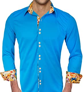 product image for Beach Themed Moisture Wicking Dress Shirt - Made in USA