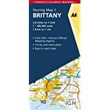 AA Road Map Brittany  (AA Touring Map France 01) (AA Road Map France Series)