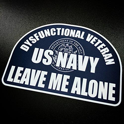Dysfunctional Veteran US NAVY - Sticker