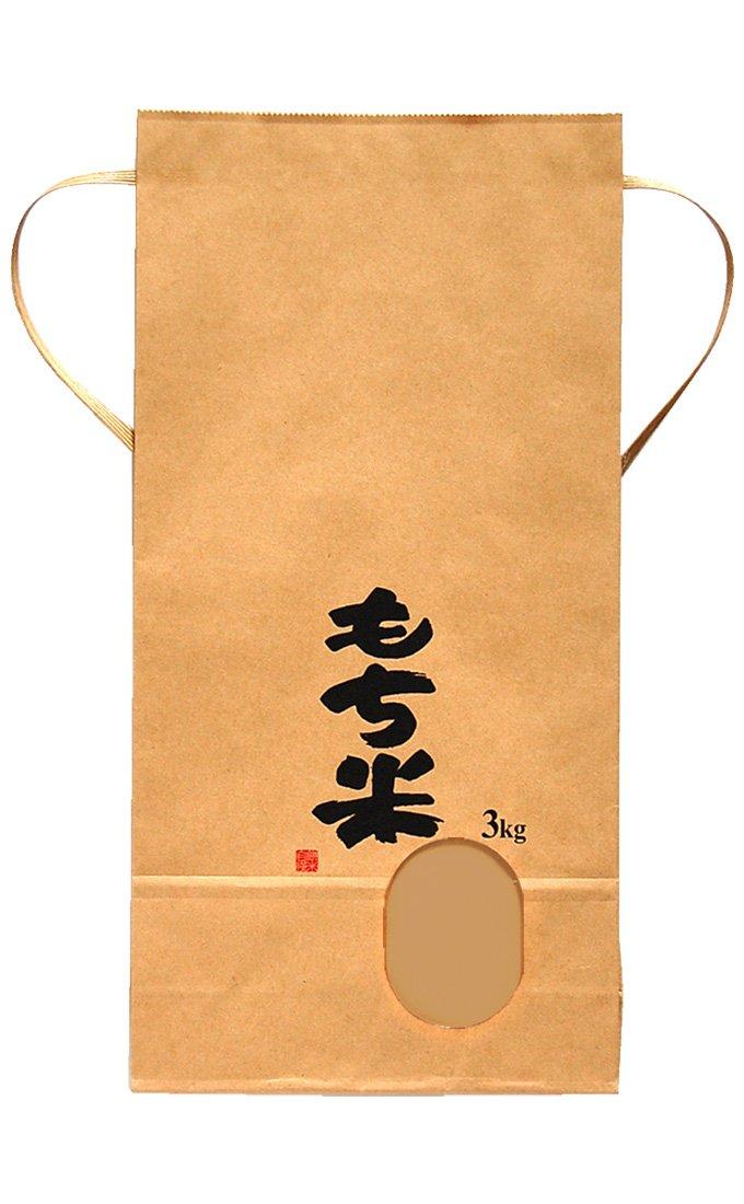 マルタカ クラフトSP 保湿タイプ もち米 田舎だより 3kg用紐付 1ケース(300枚入) KHP-400 B077GKYGDM 3kg用米袋 1ケース(300枚入) 1ケース(300枚入) 3kg用米袋