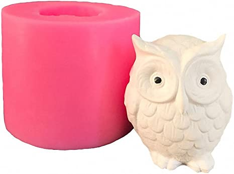 new Silicone Mold Owl duck pig flowers cat Letter spoon Cake Mold Baking Tools