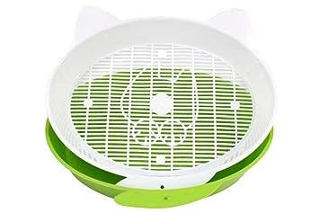Petsfit PortáTil Inodoro para Gato Arenero Gatos De Diferentes Colores Bandeja Higienica Gatos PráCtico WC para Gatos Caja Arena Gatos MS-021, ...