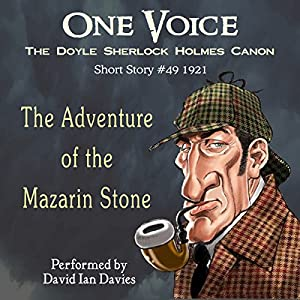 The Adventure of the Mazarin Stone Audiobook