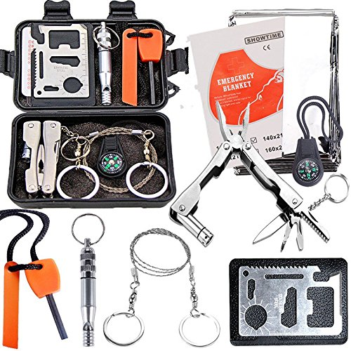 Brake The Fittest Emergency Survival Equipment Kit Sports & Outdoor - Outdoor Sports Sos Emergency Survival Equipment Kit Tactical Hunting Tool - Pinch Selection - 1PCs