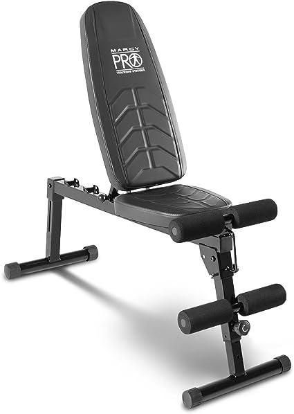 Marcy Pro Easybuild Banc De Musculation Reglable Noir Taille Unique Amazon Fr Sports Et Loisirs