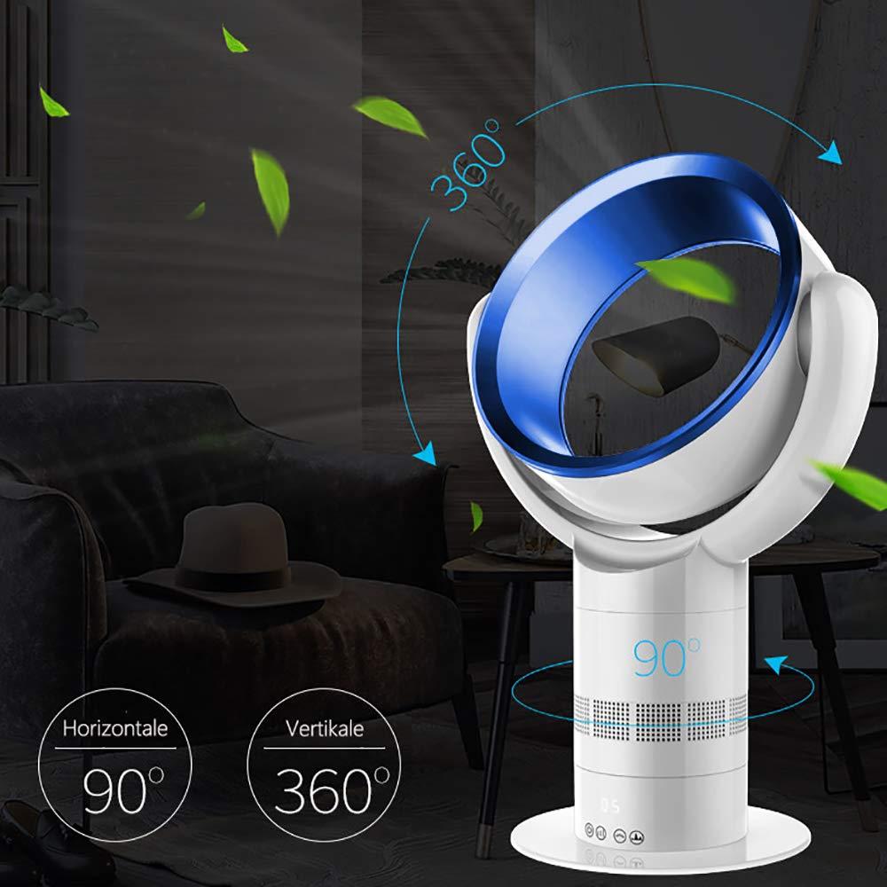 3 Betriebsmodi Luftreiniger Ventilator mit HEPA-Filter inkl Leises Betriebsger/äusch Mobile Klimaanlage mit Fernbedienung Timer Ventilator mit 10 Geschwindigkeitsstufen 60 cm 35W