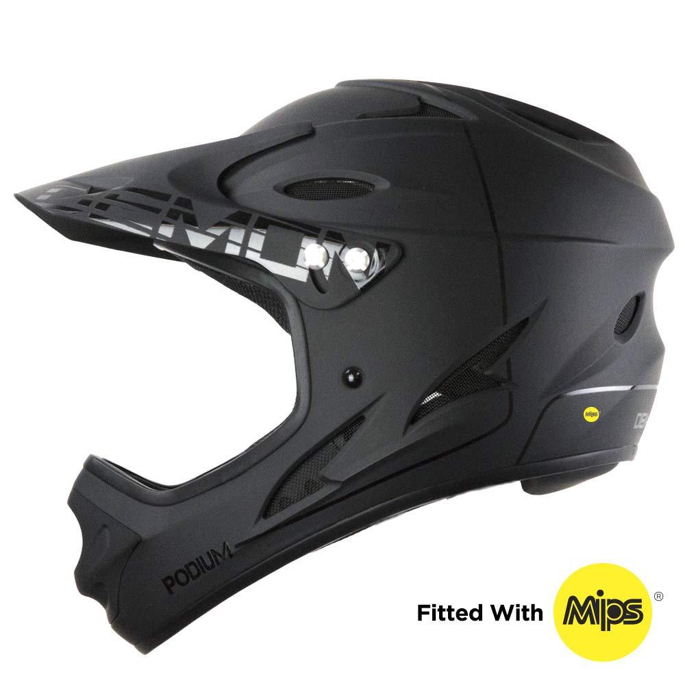 Demon United Podium Full Face Mountain Bike Helmet w/MIPS Brain Protection System (Small)