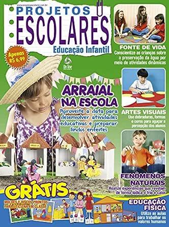 Projetos Escolares Educação Infantil 97 (Portuguese Edition) eBook ...
