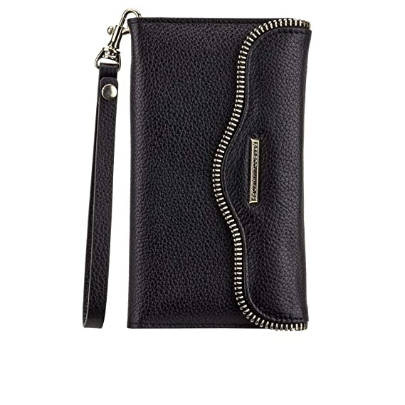 uk availability 89724 98c12 Case Mate Rebecca Minkoff Leather Folio for Samsung Galaxy Note 5 Wristlet  Black