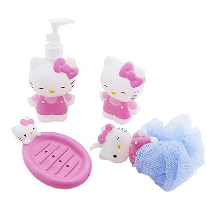 Inaaya Kids Bathroom Accessories Set Soap Holder For Kids Bathroom