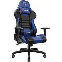 Furgle Office Gaming Chair Silla de Carreras con Respaldo Alto y reposabrazos Ajustables Piel sintética Silla de…