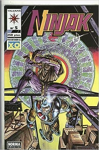 Ninjak numero 5: Mark Moretti-Joe Quesada-Jimmy Pamiotti ...