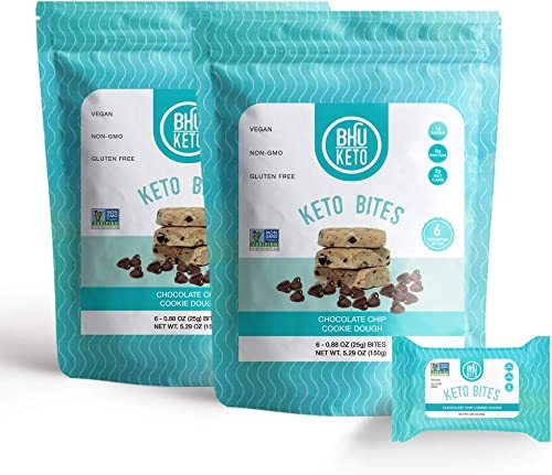 BHU Keto Bites – Chocolate Chip Cookie Dough 2 Bags