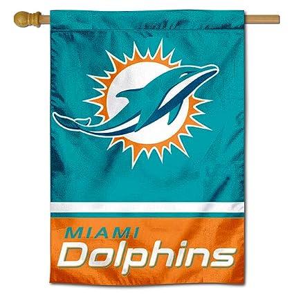 Amazon.com: Miami Dolphins Dos Sided cámara Bandera: Sports ...