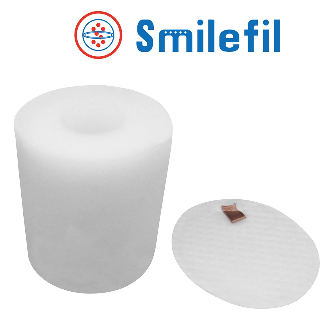 Smilefil Shark XFF500 Replacement Foam & Felt Filter Kit to Fit Shark NV500, NV500CO, NV501, NV502, NV503, NV505, NV510, NV500W&NV550, NV552, UV560. Replaces Part #XFF500