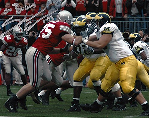 Simon Frasier Autographed Ohio State Buckeyes 8x10 Photograph - Certified Authentic - Autographed Photos by Ohio...