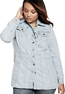 Amazon.com: Jessica London Women&39s Plus Size Classic Cotton Denim