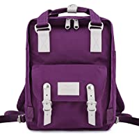 "Himawari School Waterproof Backpack 14.9"" College Vintage Travel Bag for Women,14 inch Laptop for Student(189-01#)"