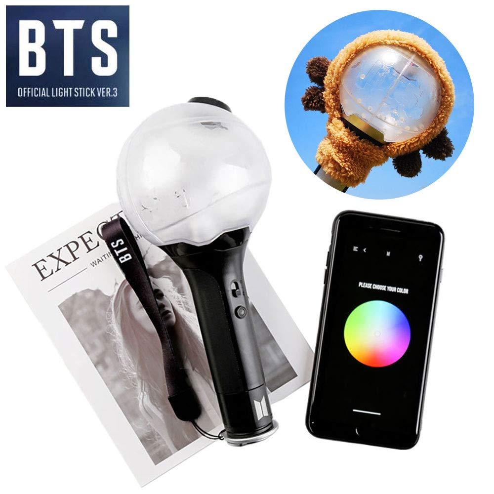 con Bluetooth KPOP BTS Light Stick con Bluetooth Ver.3 Army Bomb Bangtan Boys Concert Light Lights