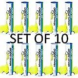 Yonex Mavis 2000 Nylon Yellow Badminton Shuttlecock (10 tubes pkg)
