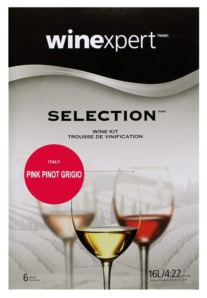 Pink Pinot Grigio Italy (Selection International) Wine Ingredient Kit by Winexpert (Image #1)