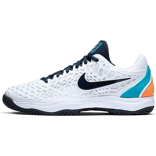 4c472661b93efa Nike Air Zoom Cage 3 HC, Scarpe da Tennis Uomo: Amazon.it: Scarpe e ...