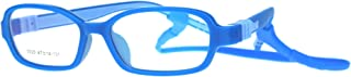 Child Size Soft Rubber Light Plastic Detachable Clip Arm Optical Eye Glasses Frame