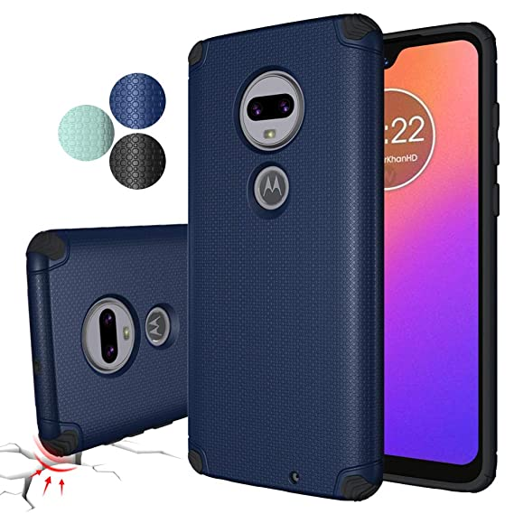 Moto G7 Case Cover,Moto G7+ Plus Case, Rebex Shock-Absorption  Anti-Fingerprint Non Slip Built-in Magnetic Metal Plate,Ultra Thin  Lightweight Slim