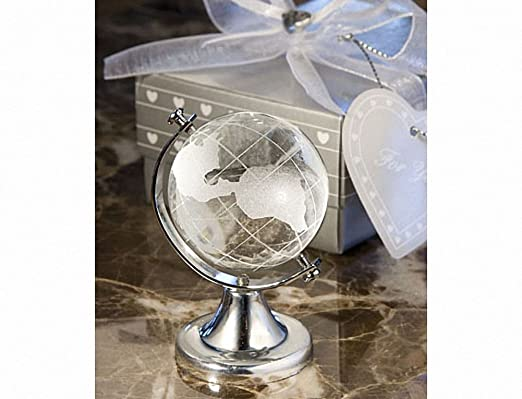 Choice Crystal Globe Favor Great Wedding Favours Birthday Gifts