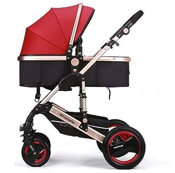 JJLL sillas de Paseo Ligeras carritos de Bebe Plegable Carro Bebe de ...