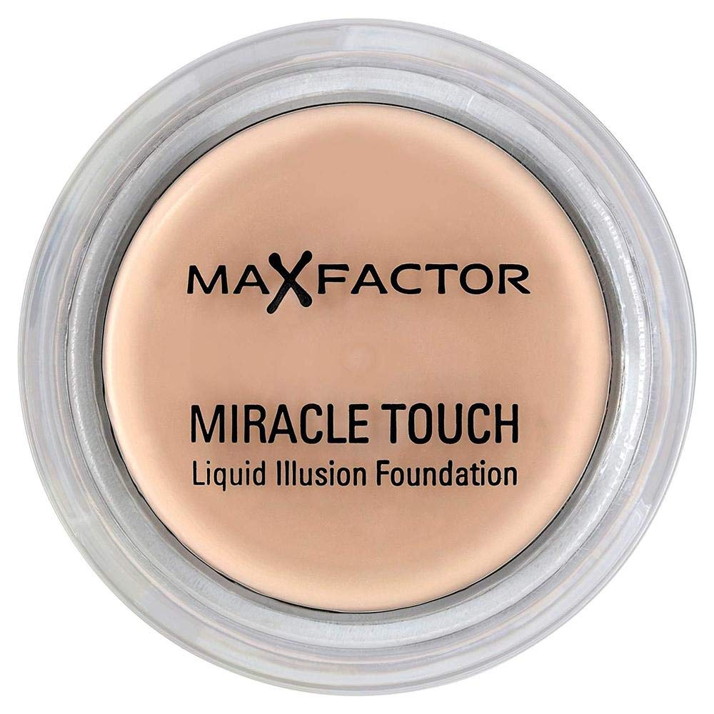 Max Factor Miracle Touch Liquid Illusion No. 55 Foundation, Blushing Beige, 0.38 Ounce