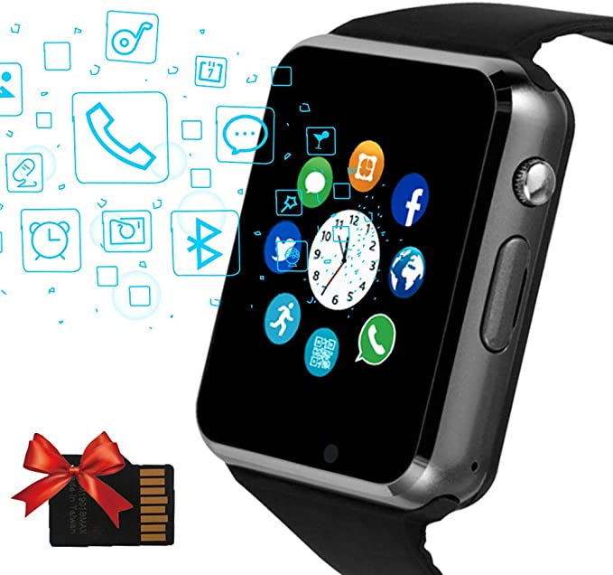 Amazon.com: Janker - Reloj inteligente con Bluetooth ...