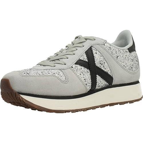 6a0b7882bc Munich Sneakers Donna Grigio/Argento: Amazon.it: Scarpe e borse