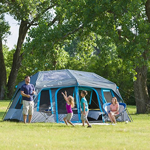 Ozark Trail 10-Person Dark Rest Instant Cabin Tent & Ozark Trail 10-Person Dark Rest Instant Cabin Tent - Camping Companion