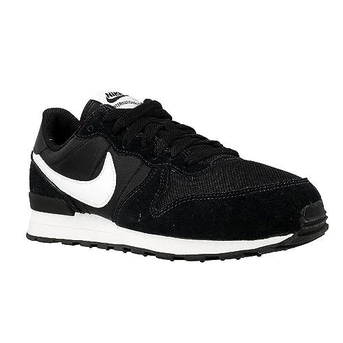 Nike Internationalist (GS), Zapatillas de Running para Niños, Negro White-Black, 35 1/2 EU: Amazon.es: Zapatos y complementos