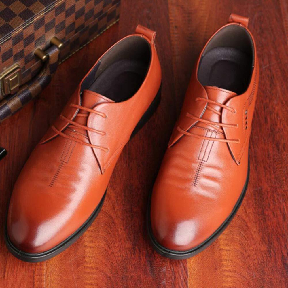 ZYSYSL Formelle Formelle Formelle Schuhe Herren schnürend rahmengenäht Vintage Business Classic Casual männliche Lederschuhe Spitzen Leder Leder atmungsaktiv  e7fdbd